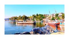 Niterói - Jurujuba (o.dirce) Tags: niterói jurujuba riodejaneiro barcos cidade rede pesca dirce odirce