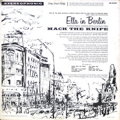 Mack The Knife - Ella in Berlin - Back Cover (epiclectic) Tags: 1961 ellafitzgerald backcover epiclectic vintage vinyl lp record album collection music epiclecticcom cover art retro sleeve jacket