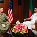 Navy leaders from the U.S., Bangladesh meet during CARAT Bangladesh 2019