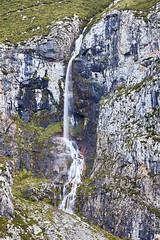 It's a long way down (mchurruca) Tags: mountain waterfall cascade fall landscape water autumn river longexposure picos de europa