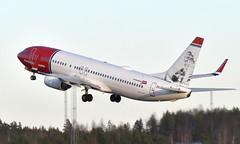 Norwegian SE-RRA, OSL ENGM Gardermoen (Inger Bjørndal Foss) Tags: serra norwegian airsweden boeing 737 osl engm gardermoen