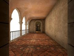 Palace6 (Kendra Zaurak) Tags: castle palace home villa fanatik mesh buildings prefabs secondlife gorean wine estate portuguese