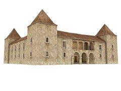 Palace1 (Kendra Zaurak) Tags: castle palace home villa fanatik mesh buildings prefabs secondlife gorean wine estate portuguese