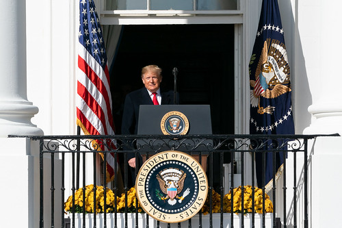 President Trump Welcomes the Washington by The White House, on Flickr