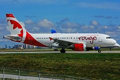 C-GBHZ (Air Canada - rouge) (Steelhead 2010) Tags: airbus aircanada a319 a319100 yyz creg cgbhz rouge