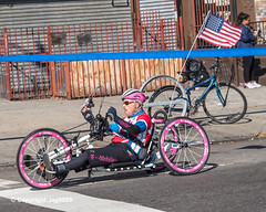 2019 TCS New York City Marathon on Fifth Avenue in Central Harlem, Manhattan NYC (jag9889) Tags: 2019 2019newyorkcitymarathon 2019tcsnewyorkcitymarathon 20191103 5thavenue americanflag athlete bicycle bike centralharlem disabled fifthavenue handbike handcycle harlem manhattan marathon men ny nyc newyork newyorkcity outdoor race runner running sport tcs tataconsultancyservices transportation trek tricycle usa unitedstates unitedstatesofamerica vehicle humanpowered jag9889