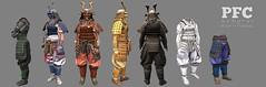 PFC ~ Samurai @ We <3 Roleplay (Pucca Firecaster Creations) Tags: samurai armor pfc