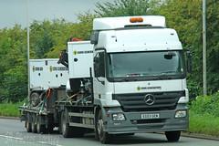 Mercedes Actros Euro Generators EG03 GEN (SR Photos Torksey) Tags: transport truck haulage hgv lorry lgv logistics freight traffic road commercial vehicle mercedes actros euro generators