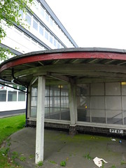 Shelter (failing_angel) Tags: 180519 london piccadillylinetour piccadillyline londonboroughofenfield cockfosters charlesholden frankpick artdeco undergroundstation