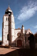 Eglise St-Martin de St-Valéry-en-Caux (Philippe_28) Tags: saintvaleryencaux caux 76 seinemaritime france europe normandie normandy argentique analogue camera photographie film 135