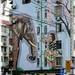 Street Art, Pudong Avenue, Shanghai