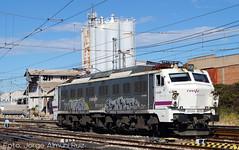 251.028 (Tomeso) Tags: 251 renfe mitsubishi locomotora electrica mercancias carbon trarragona cataluña spain