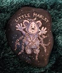Continuing the Little Ted Christmas Rocks (Andreadm66) Tags: christmas ghost marleysghost marley handpainted art rock paintedstone paintedpebble rockart paintedrock