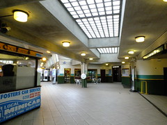 Deco Booking Hall (failing_angel) Tags: 180519 london piccadillylinetour piccadillyline londonboroughofenfield cockfosters charlesholden frankpick artdeco undergroundstation