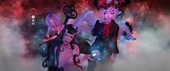 ✿ ʎɹəʇəɯəɔ ✿ (kuroda.contact.sl) Tags: graveyard cemetery second life secondlife halloween demon angel magic mysterious maitreya kemono