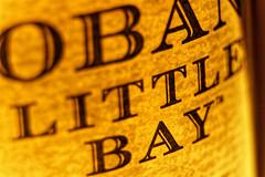 Oban little bay (single malt) (lespittets1) Tags: canon80d18135mm kenkoextensiontube56mm macromondays brandandlogos scotland malt whisky