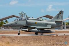 Brazilian Navy AF-1C Skyhawk (Sam Wise) Tags: navy latinamerica southamerica cruzex natal douglas rn military exercise brazilian af1 a4 skyhawk