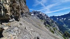 A long traverse (Vincent_Thonnart) Tags: gasteretal kandersteg halpigang schweiz suisse alpes alpen switzerland hiking wandern randonnée im halpi fisistock
