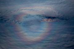 Brocken Spectrum, Atacama, Chile (José Rambaud) Tags: brocken spectrum optical reflejos cielo sky nubes clouds nieve snow desert atacamadesert desiertodeatacma aerea aerial inflight andes andesrange chile cordillera