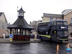 SN67WZG - North Promenade, Cleveleys, Lancashire, November 2019. (Iveco 59-12) Tags: blackpooltransport blackpoolbus blackpoolbuses palladium alexanderdennis adl enviro400city sn67wzg 442