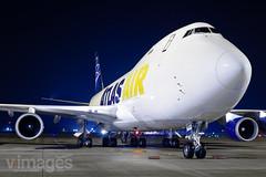 N493MC Atlas Air Boeing 747-47UF (v1images Aviation Media) Tags: jason nicholls v1images aviation media n493mc atlas air boeing 74747uf 747400 744 dsa egcn doncaster sheffield international airport united kingdom uk england eu europe south yorkshire
