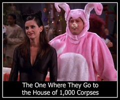 Friends (danimaniacs) Tags: friends chandler monica pinkbunny houseof1000corpses