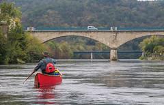 IMG_7495 (Mal Grey) Tags: dordogne canoeing argentat beaulieu high water