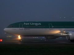 Aer Lingus                                        Airbus A330                                          EI-GAJ (Flame1958) Tags: aerlingus aerlingusa330 aerlingusdusk airbusa330 airbus a330 330 eigaj dub eidw dublinairport 031119 1119 2019 9305 ei109