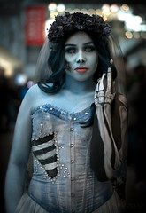 Corpse Bride (Paul Ocejo) Tags: cosplay cosplayer cosplayers costume nycc nycc2019 newyorkcomiccon newyorkcity javitscenter javits center con convention newyork corpsebride corpse bride timburton tim burton body face paint bodypaint facepaint makeup