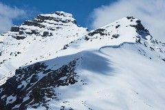 Crested Ridge (Broot Thanks for 1 million views!) Tags: rockymountains montagnesrocheuses mountain ridge crest canada alberta snow spring may 2019