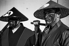 Super Samurai Bros. (Paul Ocejo) Tags: cosplay cosplayer cosplayers costume nycc nycc2019 newyorkcomiccon newyorkcity javitscenter javits center con convention newyork samurai super mario bros mariobros luigi brothers bw nintendo