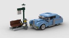 Ara Élégante (Antony.me) Tags: lego car vehicle automobile 50s