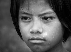 kid from Myanmar (robertoburchi1949) Tags: people persone portrait ritratto blackwhite bianconero young kids world eyes occhi