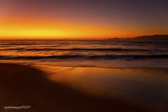 Golden Gate Strait (Ross Forsyth - tigerfastimagery) Tags: usa california 2019 sanfrancisco sanfran cali bakerbeach beach surf tide waves longexposure settingsun sunsetglow goldengatestrait october sunset pointbonita canon 5dmk3 24105