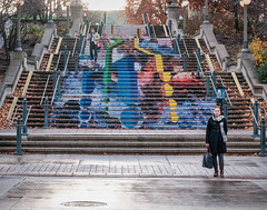 Watch your step (Richard Pilon) Tags: ottawa street candid fujixt3 november fujifilm streetphotography urbanphotography fujinon55200mm