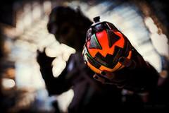 Trick or Treat? (Paul Ocejo) Tags: cosplay cosplayer cosplayers costume nycc nycc2019 newyorkcomiccon newyorkcity javitscenter javits center con convention newyork spiderverse spiderman green goblin greengoblin pumpkin jack o lantern pumpkinbomb