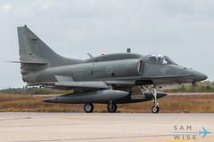 Brazilian Navy AF-1B Skyhawk (Sam Wise) Tags: navy latinamerica southamerica cruzex natal military douglas rn marinha exercise brazilian af1 a4 skyhawk