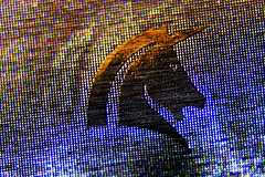 Frey Chocolate (aluminium foil) (lespittets1) Tags: canon80d18135mm kenkoextensiontube56mm macromondays brandandlogos aluminium foil frey chocolate chocolat