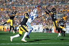 Fitzpatrick's Interception (Brook-Ward) Tags: brook ward mankah fitzpatrick 39 pittsburgh pitt burgh pgh 412 steelers nfl national football league interception touchdown heinz field sports action game