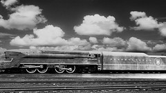 PRR T1 Locomotive Clouds Background! (844steamtrain) Tags: 844steamtrain prr pennsylvania railroad t1 trust flickr 5550 4444 big steam locomotive fastest up boy 4014 sp 4449 lner flying scotsman mallard america usa 3985 844 most popular views viewed railway train trains trending relevant recommended related shared google youtube facebook galore viral culture science technology history union pacific engine metal machine art video camera photography photo black and white monochrome picture bw blackandwhite best top trump news new sp4449 up4014 clouds