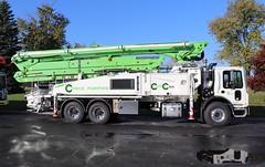 Conco Pumping Truck (raserf) Tags: conco cement concrete truck trucks pump pumper pumping putzmeister mack sturtevant wisconsin racine county