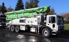 Conco Pumping Truck (raserf) Tags: conco pump pumper pumping truck trucks cement concrete putzmeister mack sturtevant wisconsin racine county