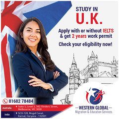 Study in UK (Western Global Migration & Education Services) Tags: uk canada australia visa migration immigration ielts pte education melbourne