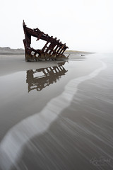 A Lesson in Patience (Gary Randall) Tags: gar18032 oregon oregoncoast peteriredale shipwreck pacificocean fortstevens astoria