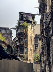 Dystopian memories of a distant past (PeterThoeny) Tags: macau china house building architecture classical historical history old oldtown downtown abandoned city town skyline day outdoor sony a6000 selp1650 3xp raw photomatix hdr qualityhdr qualityhdrphotography fav100