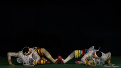DSC_5700 (Daveoffshore) Tags: inwa school performing arts performance culture cultural dance colourful vibrant colorful david ferguson daveoffshore daveoffshorenetscapenet inwaschool mandalay myanmar mintra theatre burmese tradition traditional costume