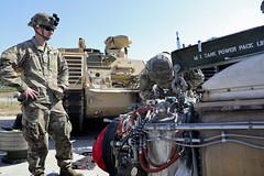 6-9 Cav. field maintenance (3rd Brigade Combat Team, 1st Cavalry Division) Tags: 20thpad 2id 3rdabct 1stcav republicofkorea usarmy 69cav tanks abrams maintenance rodriguezlivefirerange
