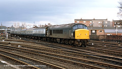 06/04/1985 - Holgate Junction, York. (53A Models) Tags: britishrail sulzer type4 class45 peak 45049 diesel passenger york train railway locomotive railroad