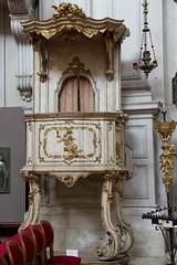 IMGP4372 (hlavaty85) Tags: venice venezia benátky pietá santa maria visitazione navštívení panny marie kostel church chiesa kazatelna pulpit