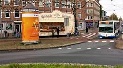 Peperbollenbus (Peter ( phonepics only) Eijkman) Tags: amsterdam city gvb bussen busses bus oliebollen nederland netherlands nederlandse noordholland holland